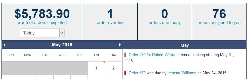 Rental Management Calendar
