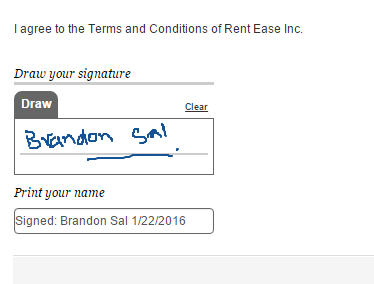 electronically sign rental agreements with ezrentout