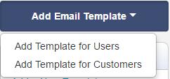 Add Email Template - EZRentOut