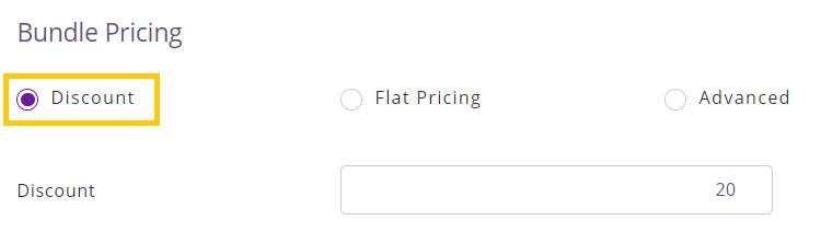 discount in bundles