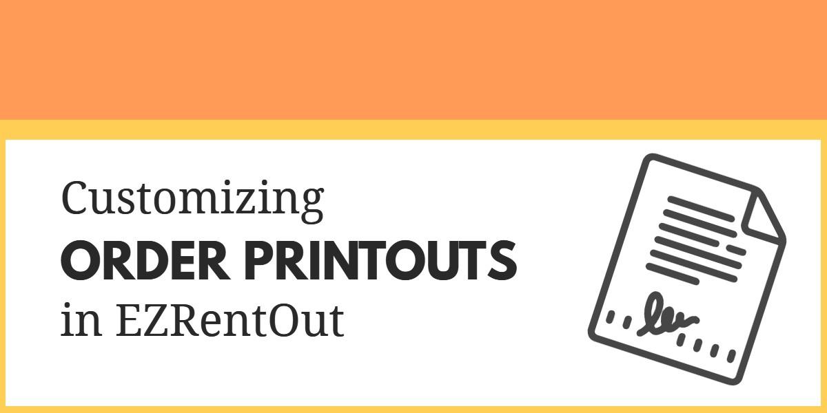 order printouts