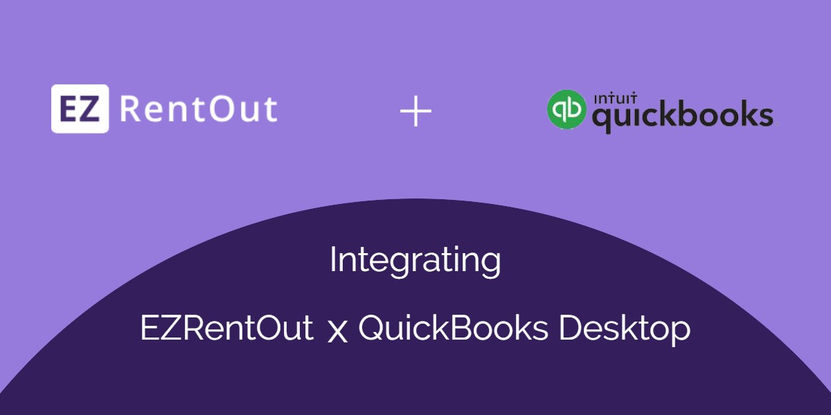 Integrate EZRentOut with QBD