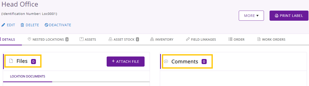 add documents and comments