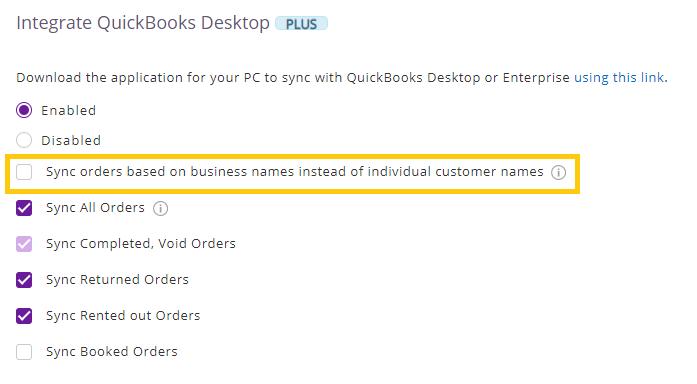 enable quickbooks desktop
