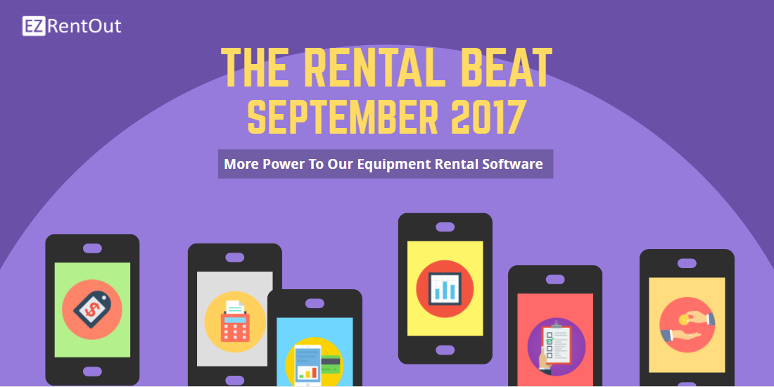 equipment rental software