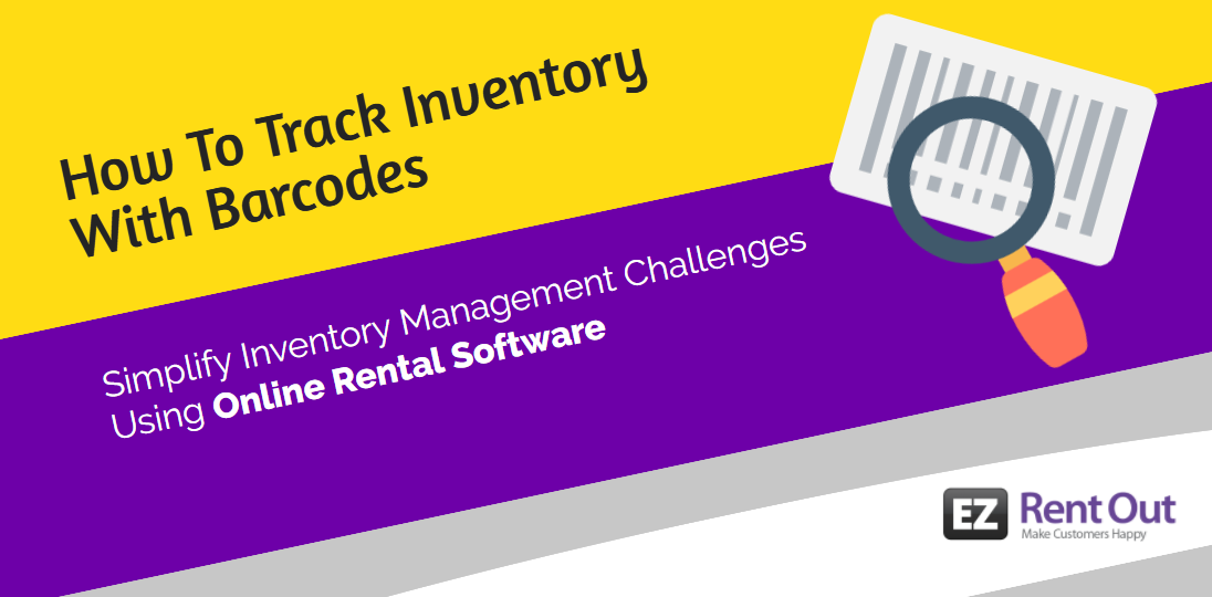 inventory management online rental software