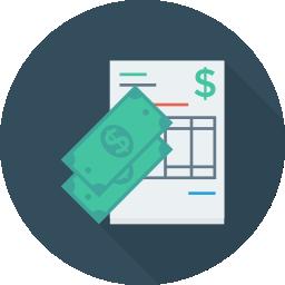 long-term rentals invoices