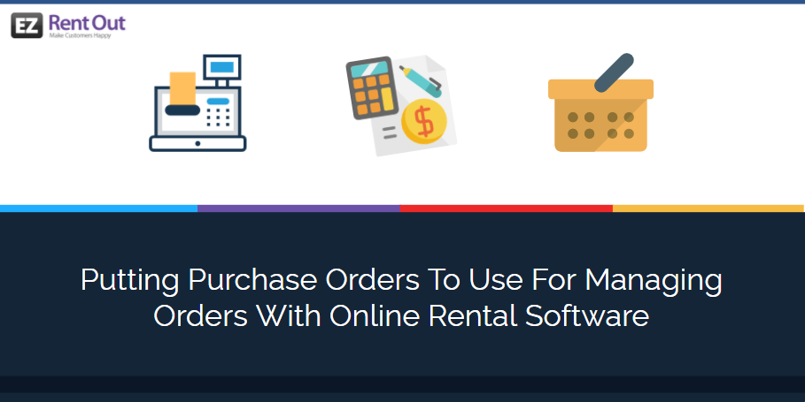 purchase order online rental software