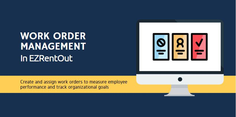 work order management in rental software