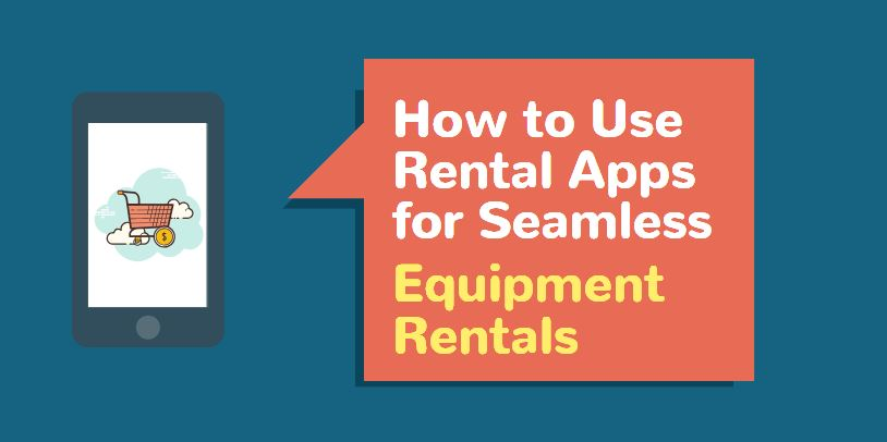 equipment rental app