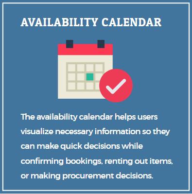 Availability Calendar rental software