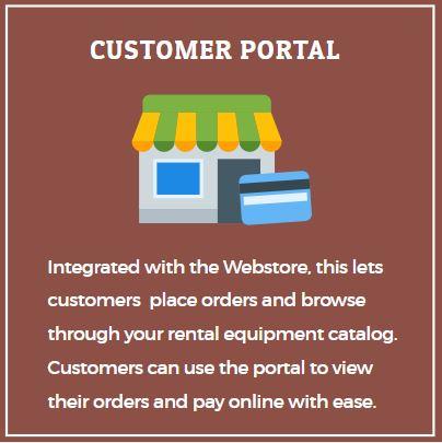 Customer Portal Rental Software