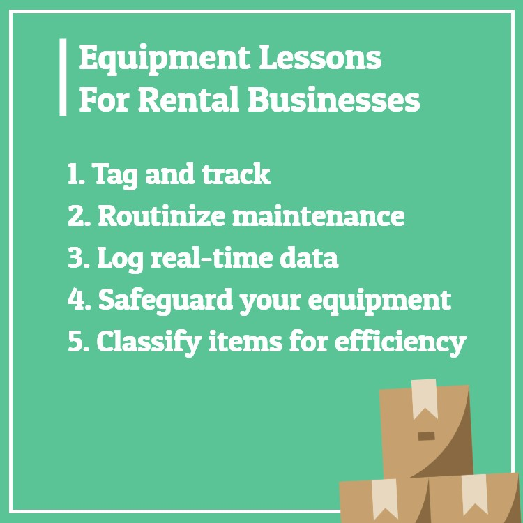 Equipment rental business lessons