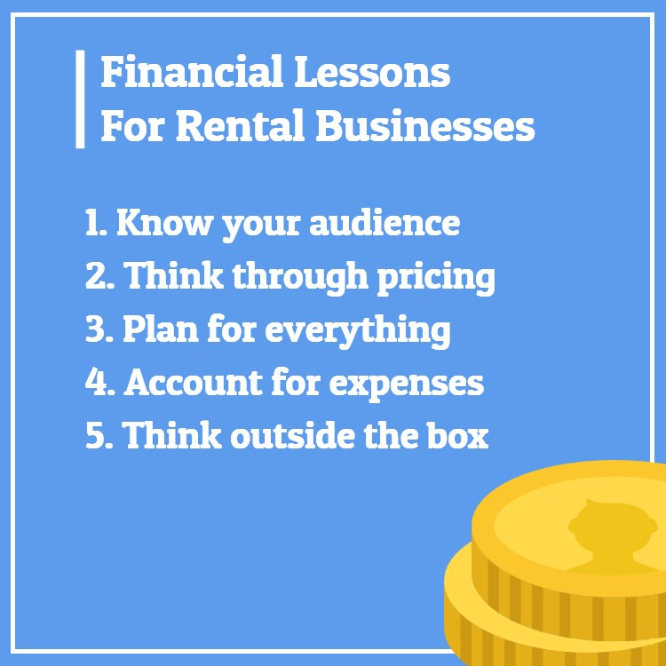 Financial rental business lessons