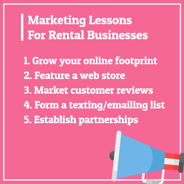 Marketing rental business lessons