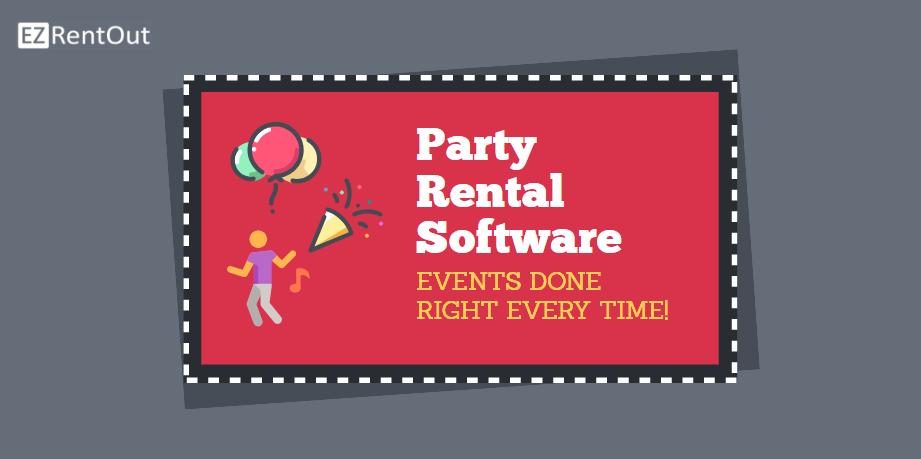 Party rental software