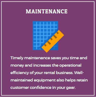 maintenance rental software