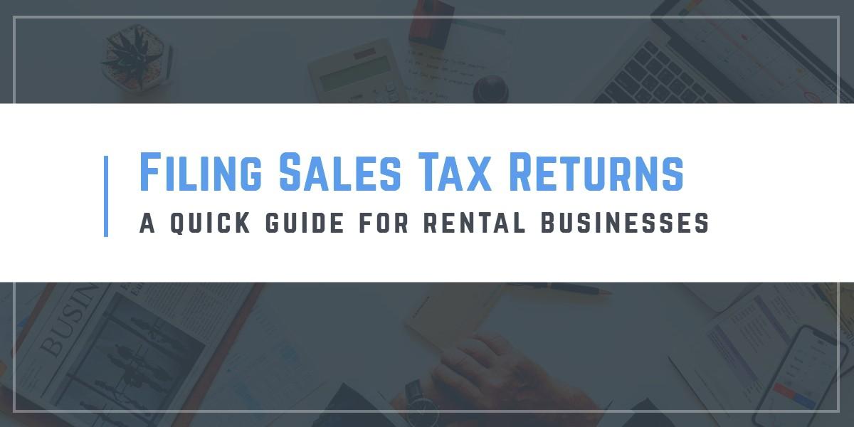 Rental Sales Tax