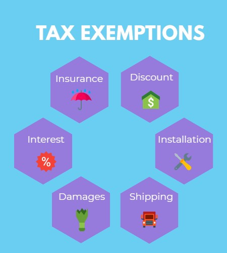 tax exemptions when filing sales tax