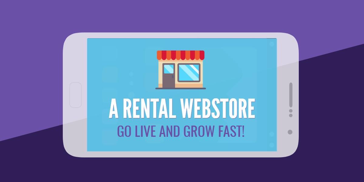 Rental webstore