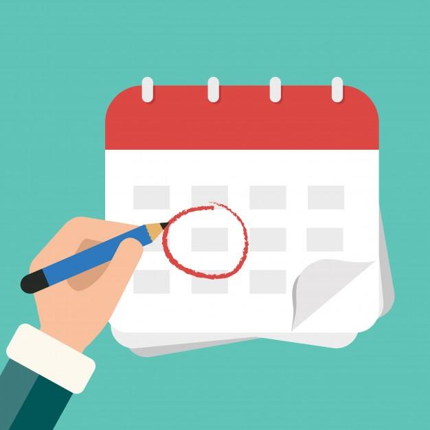 equipment rental management software - calendar