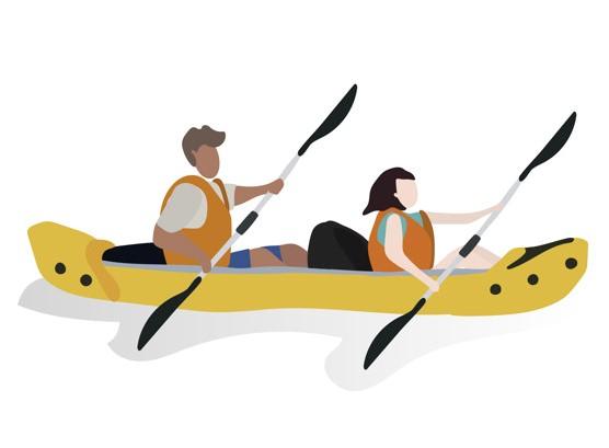 adventure rentals - kayaking