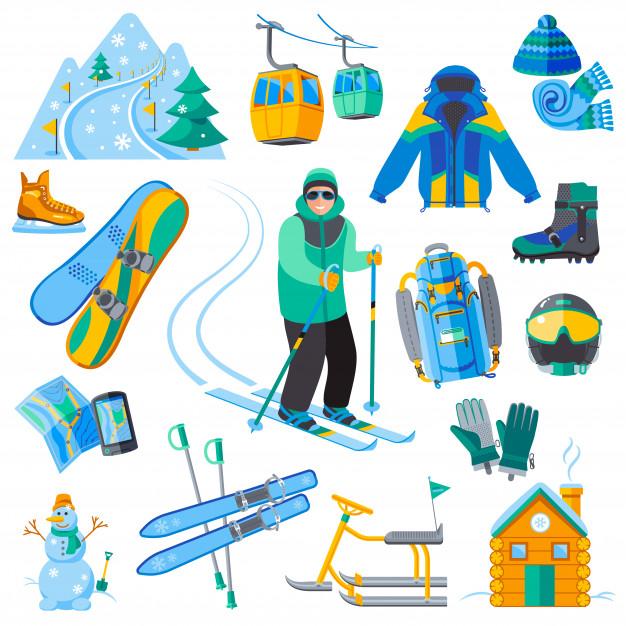 adventure rentals - skiing