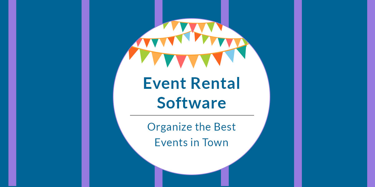 Event Rental Software for best events in town
