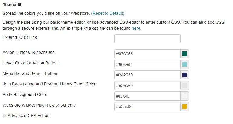 webstore plugin theme