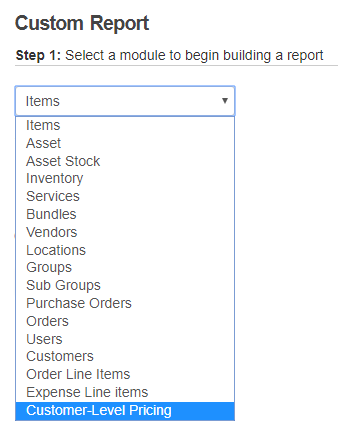 10. New module in custom reports