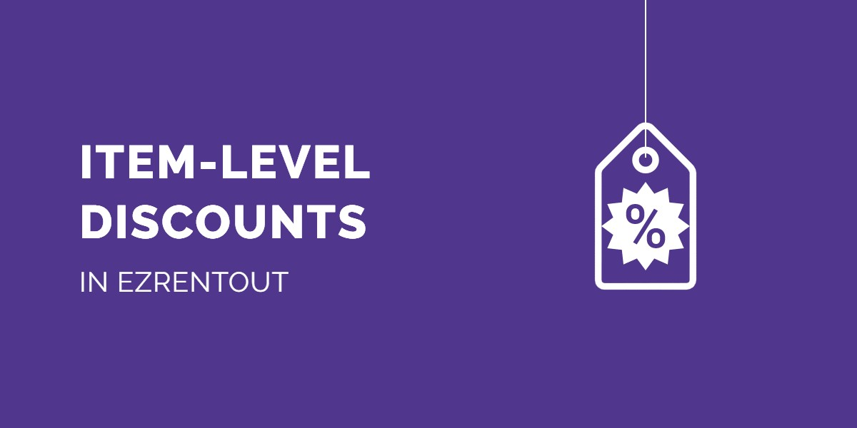Item level discounts