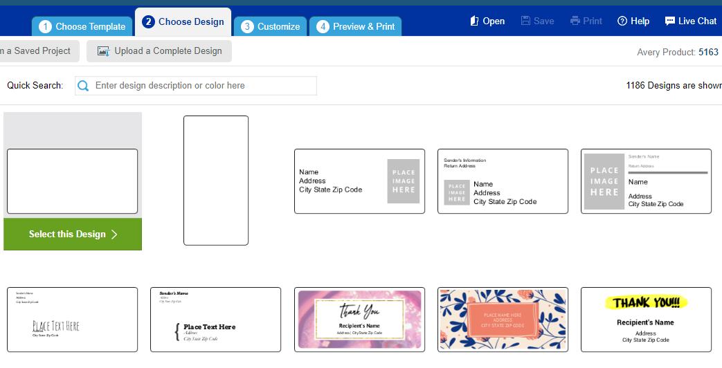 avery designs