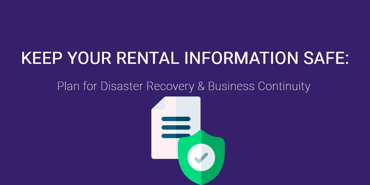 Keep your rental information safe